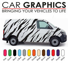 VW Transporter car graphics tiger stripes decals stickers vinyl