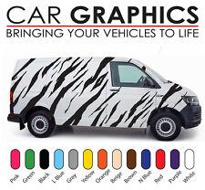 VW Transporter car graphics tiger stripes decals stickers vinyl vt1
