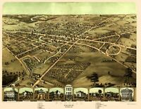 Pontiac Michigan - Ruger 1867 - 23.00 x 29.84