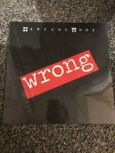 "DEPECHE MODE WRONG 12"" SINGLE 2009 SEALED UNPLAYED MINT"