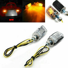 LED Black Micro Mini Tiny Small Indicators Turn Signals Motorcycle MotorBike New