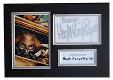 Hugh Keays-Byrne Signed Autograph A4 photo display Mad Max Film AFTAL COA