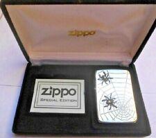 Zippo Spider Double Limited Edition 426/1000 Replica 1941 aufgesetzte Spinnen