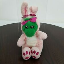 Barney & Friends Baby Pop Plush Pink Bunny Costume 9""