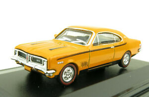 Road Ragers 1970 Holden Monaro HG GTS Coupe Muscle Car Indy Orange 1:87 Scale