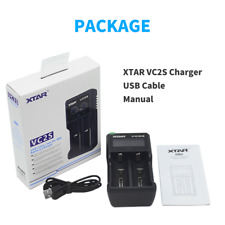 Xtar Vc2S Mod Fast Charge 18650 Battery Charger w/Power Bank Function Li-ion lMr