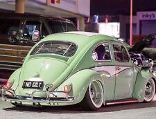 """15"""" Whitewall band portawall tire trim set of 4 Porsche 356,VW Beetle Pre. #191"""