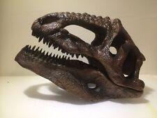 T-Rex Dinosaur Skull Resin Allosaurus Jurrasic World Indominus Rex
