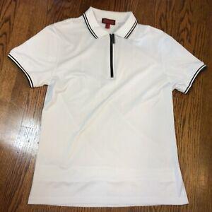 Burberry Golf Casual top tee dress  Zipper polo Summer shirt Beautiful Men's L