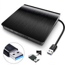 Slim External Drive USB3.0 DVD RW CD Laufwerk Schlanke Brenner für Laptop PC NEU