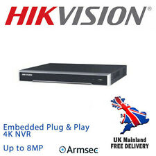 HIKVISION 8MP IP PoE Embedded Plug&Play 4K NVR 8-ch Recorder (DS-7608NI-K2/8P)