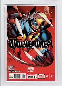 Wolverine #1 2013 Signed by Wolverine Creator Herb Trimpe and Alan Davis