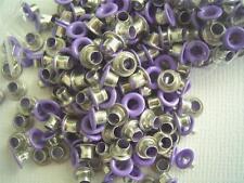 """1/8"""" eyelets PURPLE pk of 50 round scrapbooking craft eyelet card making"""