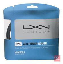 Luxilon Big Banger Alu Power Rough 125 Tennis String Set - 16L / 1.25mm - Silver