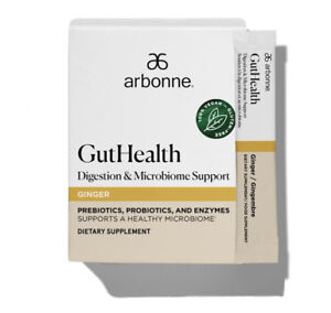 Arbonne Gut Health Digestion & Microbiome Support 10x 3g Sacehts (Exp Mar 2022)