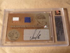 2005-06 ITG Ultimate Alexander Ovechkin The GR8 RC True 1/1 Auto Sock Jersey WOW