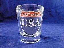HARLEY DAVIDSON USA SHOT GLASS