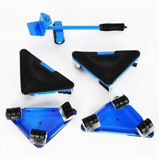 New listing 50Kg 5Pcs/Kit Furniture Lifter Moves 4 wheeled Corner Movers Home Moving Tool