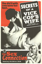 Poster~ SECRETS OF A VICE COPS WIFE ~Renate Larsen ~SEX CONNECTION ~Joanna Jung
