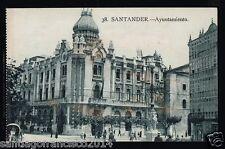 """649.-SANTANDER -38 Ayuntamiento (Ed. La """"Ideal"""")"""