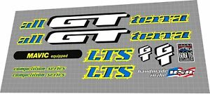 1995 GT LTS COMPETITION SERIES DECAL SET