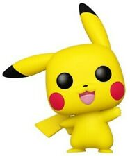 Pokemon - Pikachu (Waving) - Funko Pop! Games: (2019, Toy NUEVO)