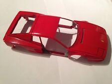 carcasse maquette testarossa 1984 miniature 1/18 1/18e 1/18eme burago