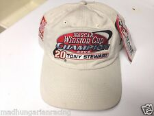 2002 Nascar Winston Cup Champion Tony Stewart Hat Cap New W/ Tag Chase Rare