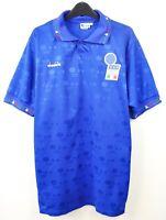 ITALY Home Shirt XL Men's 1992 1993 Jersey Italia Diadora vtg EURO Trikot retro