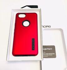 Incipio DualPro Case/Cover For Google Pixel 2 in IRIDESCENT RED/BLACK Colors