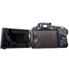 Original Grey Rear Back Cover Case & LCD Screen for Nikon D5200 DSLR Repair Part