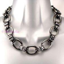 Collane e pendagli di bigiotteria in argento ematite