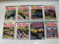LOT OF (8) ISSUES - CLASSIC TOY TRAINS MAGAZINE YEAR 1997