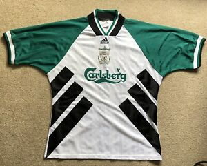 Liverpool fc away retro shirt 1993-95 season in good condition.
