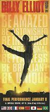 BILLY ELLIOT the musical HIT by ELTON JOHN flyer BE AMAZED 2015 FINAL ad
