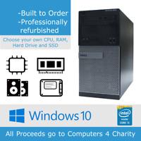 Dell Optiplex 3010 Tower i5, 4/8GB RAM, 128GB/240GB SSD, 500GB/1TB HDD