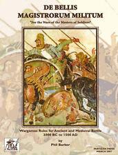 De bellis magistrorum militum (dbmm) - première édition-ancient wargames rules