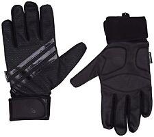 Adidas Trainingshandschuhe Fitnesshandschuh Sporthandschuhe Gr: S in schwarz