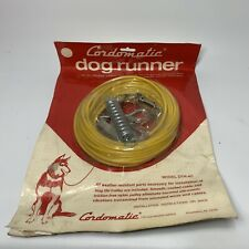 Vintage Cordomatic DTR-40 Dog Runner 40' Vinyl Coated Cable Shock Absorber - NEW