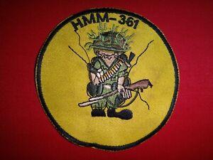 Vietnam War Patch USMC Marines Medium Lift Helicopter Squadron HMM-361