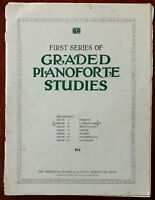 First series Of Graded Pianoforte Studies, Grade 2 – Pub. Early 1900's