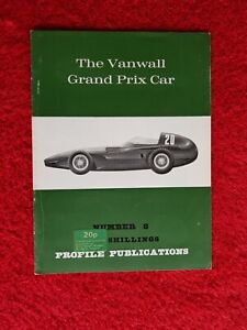 The Vanwall Grand Prix Car Profile Publications no.8