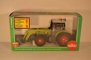 SIKU 3656 - tracteur claas avec chargeur frontal - echelle 1/32