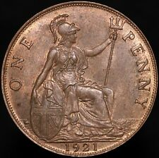More details for 1921 | george vi one penny | bronze | coins | km coins