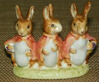 VINTAGE BESWICK BEATRIX POTTER FLOPSY, MOPSY, & COTTONTAIL BUNNIES <ENGLAND>