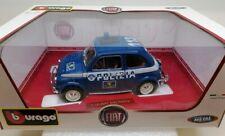 Burago 1:18 / 1:16 - Fiat 500 Polizia