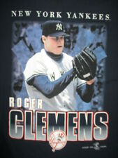 Sport Attack Label - 1999 ROGER CLEMENS No. 22 NEW YORK YANKEES (LG) T-Shirt