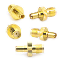 5pcs SMA Female To TS9 Male RF Connector Coaxial Adapter Straight Gold Plated
