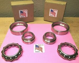 1932 TO 1939 BUICK CADILLAC NEW FRONT INNER WHEEL BEARING SET OF 2 USA MADE B26