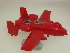 1983 RED TAKARA HASBO G1 POWERGLIDE AIRPLANE TRANSFORMER! EX. COND.!